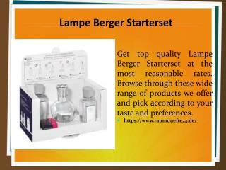 Lampe Berger Starterset