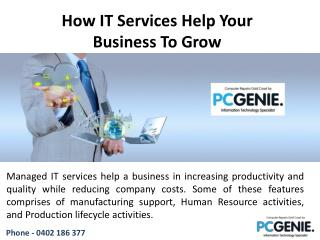 How IT Services Help Your Business To Grow