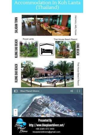 Accommodation in Koh Lanta