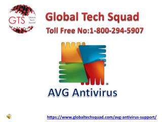 Avg Antivirus Services solution Dail-1-800-294-5907