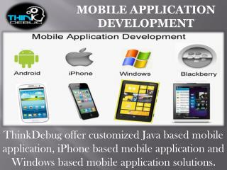 Best Mobile Application Development Company in India.
