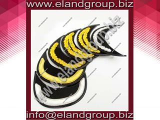 Bullion Hand Embroidered Cap Peaks