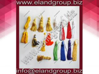 Bullion Wire & Thread Tassel Collection Supplier