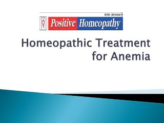homeopathy treatment for anemia