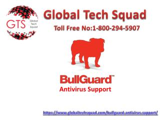 Bullguard antivirus solution help Dial:(800) 294-5907