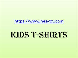 Kids Funny Graphic Purple Colour T Shirts Online