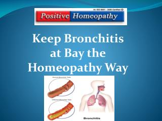 Homeopathy for Bronchitis