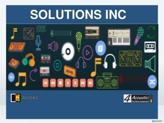 Solutions inc (microphones)