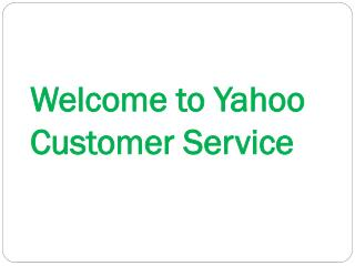 Yahoo Customer Service for Forgot Password