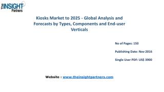 New study: Kiosks Market Trends, Business Strategies and Opportunities 2025– The Insight Partners
