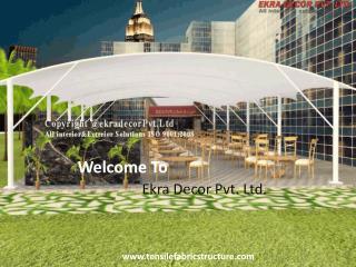 Tensile Structure Mumbai  | Tensile Structure