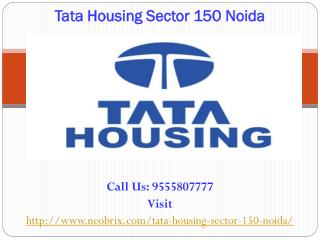 Tata Housing Noida Sector 150 luxurious project