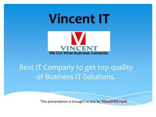 Mobile & Web Application Development Company in USA - Vincent IT