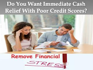 Emergency Loans Bad Credit- Best Funds In Urgency To Meet Vital Cash Requirements