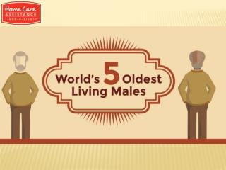 Infographic: Oldest People Living in the World