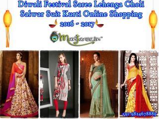 Diwali Festival Saree Lehenga Choli Salwar Suit Saree Kurti Online Shopping