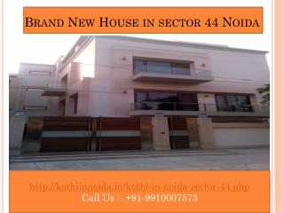 Builder Kothi in Noida, new kothi in noida sector 44