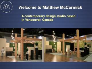 Lighting Design_Matthew McCormick