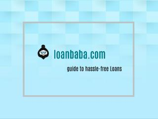Apply for Low Interest Rate Loans Online At loanbaba.com