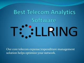 Telecom Analytics Software