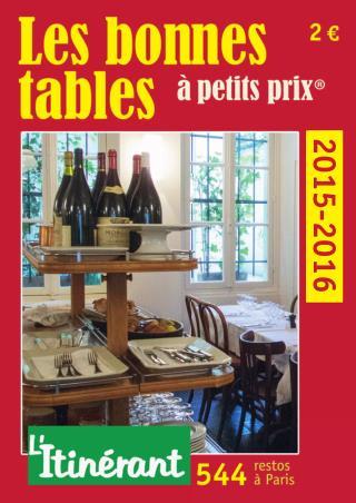 Les bonnes tables à petits prix