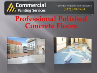 Professional Polished Concrete Floors