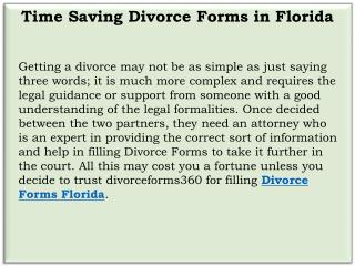 Divorce Forms Florida | Divorce Forms 360