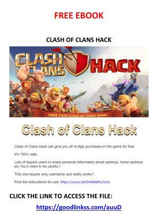 clash o clans hack