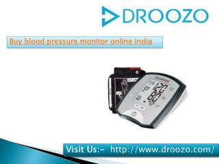 Omron blood pressure monitor online shopping india