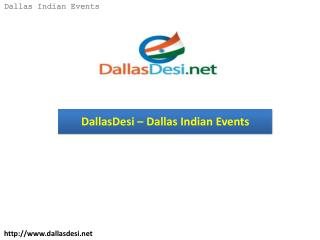DallasDesi – Dallas Indian Events