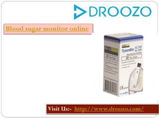 Blood Sugar Monitor Online