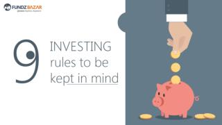 9 Rules of Investing through Mutual Funds