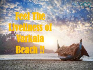 Unlimited Fun at Varkala Beach with Kerala Tour Packages