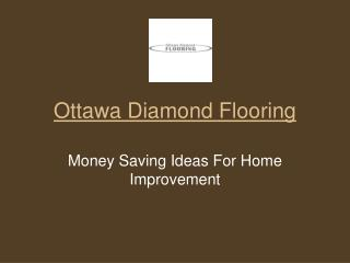 Money Saving Ideas For Home Improvement