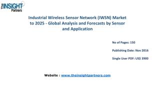 New study: Industrial Wireless Sensor Network (IWSN) Market Trends, Business Strategies and Opportunities 2025� The Insi