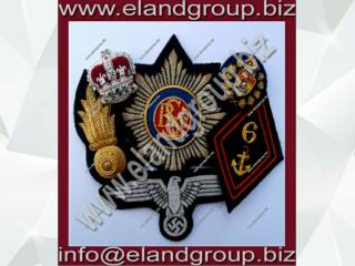Bullion and Blazer Badges
