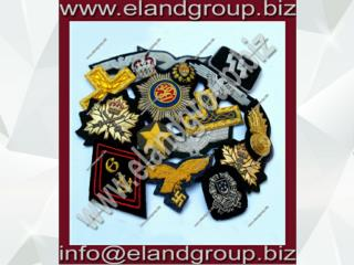 Bullion Badges Hand embroidery