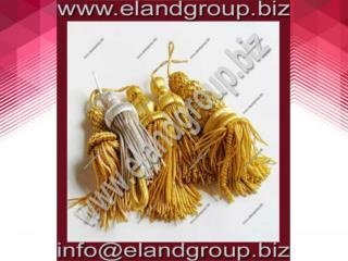 Bullion Decoration Tassels Supplier