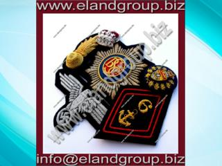 Bullion Hand embroidery badges
