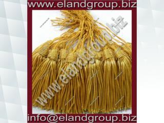 Bullion Tassels Gold Vintage Circa