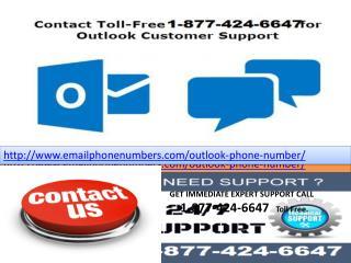 microsoft   outlook help 1-877-424-6647