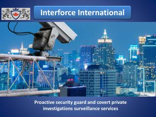 Hire Professional Private Investigation Services