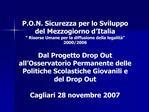 P.O.N. Sicurezza per lo Sviluppo del Mezzogiorno d Italia   Risorse Umane per la diffusione della legalit   2000
