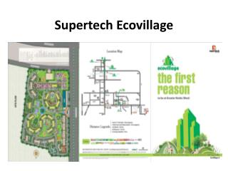 Supertech Ecovillage 1 BHK Apartment in Noida Extension