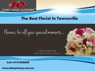 Get Wonderful Flower Arrangements With Florist In Townsville