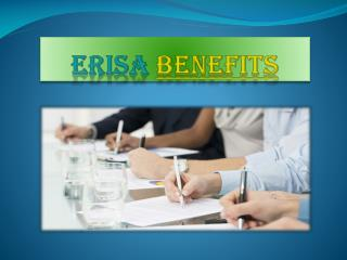 Disability and ERISA Benefits