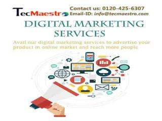 Digital Marketing Company - Top Brand Promotion By TecMaestro