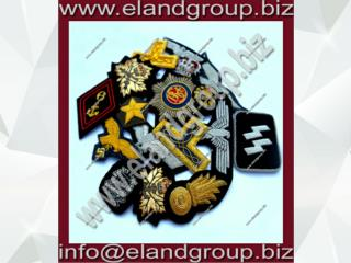 Custom blazer badges