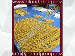 Graduation Doctoral Tam bullion Tassels