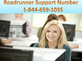 Roadrunner Support Number | 1-844-659-1035
